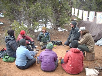 Wilderness therapy program